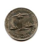 mynt gammala USA Royaltyfria Foton