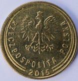 Mynt 1 Groszbaksida Fotografering för Bildbyråer