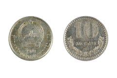 Mynt Mongoliet Arkivbild