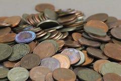 Mynt pengar Arkivfoton