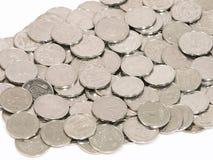 mynt spridde ukraine Royaltyfri Foto