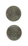 mynt två Fotografering för Bildbyråer