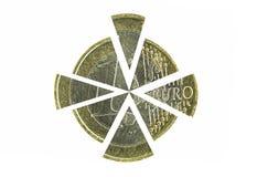 mynteuro en Arkivfoton