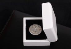 myntförmögenhet Arkivfoton