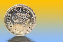 myntpund uk Arkivbilder