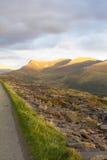 Mynydd Drws-y-mixte, Nantlle Ridge Photographie stock