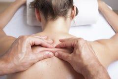 Myofacialtherapie Royalty-vrije Stock Afbeelding