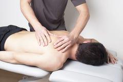 Myofascial terapi Royaltyfri Foto
