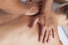 Myofascial terapi royaltyfri bild