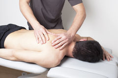 Myofascial Therapie Lizenzfreies Stockfoto
