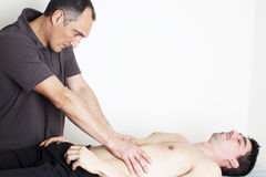Myofascial therapy Stock Images
