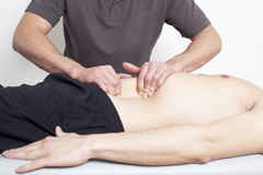 Myofascial therapy Stock Image