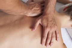 Myofascial therapy Royalty Free Stock Image