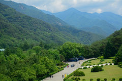 Myohyang góry, Korea zdjęcia stock