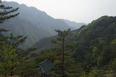 Myohyang mountains, DPRK (North Korea) Stock Image