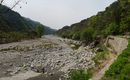 Myohyang mountains, DPRK (North Korea) Stock Images