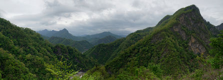 Myohyang mountains, DPRK (North Korea) royalty free stock photos