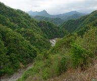 Myohyang mountains, DPRK (North Korea) Royalty Free Stock Photography