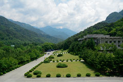 Myohyang Mountains, North-Korea Royalty Free Stock Photography