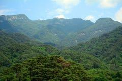 Myohyang Mountains, North-Korea Royalty Free Stock Photography