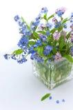 myosotis des marais de bouquet Photos stock