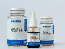 Myprotein zdjęcia stock