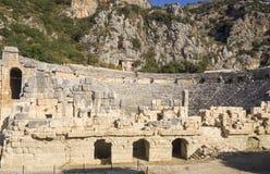Myra старое место в Турции стоковые фото