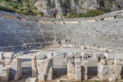 Myra Amphitheatre Royaltyfri Fotografi