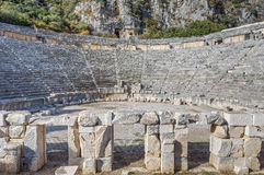 Myra Amphitheatre Royalty Free Stock Photography