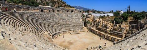 Myra Ancient City Arkivbilder