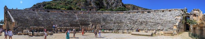 Myra Ancient City Arkivfoton
