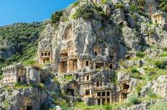 Myra (Demre), Турция Стоковое Изображение RF