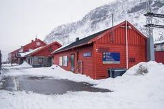Myrdal station Royalty Free Stock Photo