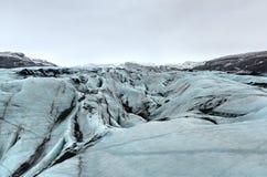 Myrdalsjokull Glacier Royalty Free Stock Image