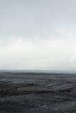 Myrdalsjokull glacier melting in Iceland Royalty Free Stock Photo
