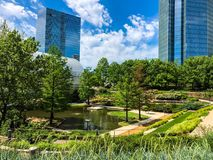 Myriad Botanical Garden OKC royalty free stock photo