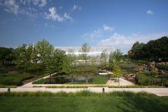 The Myriad Botanical Gardens. Beautiful Myriad Botanical Garden in Downtown Oklahoma city Royalty Free Stock Photos