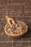 Myrrh. Is an aromatic resin, used for religious rites, incense and perfumes Royalty Free Stock Images