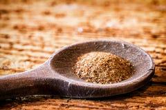 Myrrh. Incense on an old kitchen spoon - myrrh Stock Photos