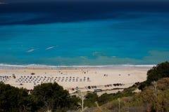 Myrthos plaża Zdjęcia Royalty Free