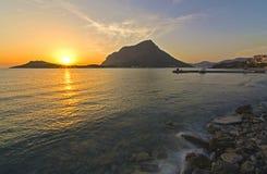Myrties, Kalymnos Grecia Fotografia Stock Libera da Diritti
