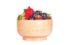 Myrtilles et fraises photographie stock libre de droits