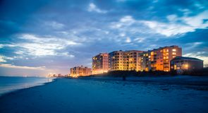 Free Myrtle Beach At Dusk Stock Images - 100300274