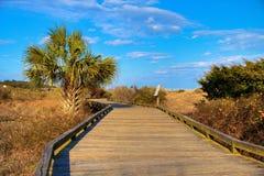 Myrtle Beach Boardwalk Arkivfoton
