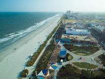 Myrtle Beach. Is a coastal city on the east coast of the United States in Horry County, South Carolina royalty free stock photography
