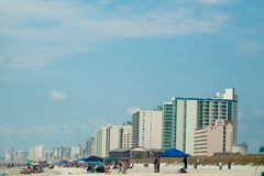 Myrtle Beach. Is a coastal city on the east coast of the United States in Horry County, South Carolina stock photos