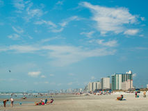 Myrtle Beach. Is a coastal city on the east coast of the United States in Horry County, South Carolina stock photo