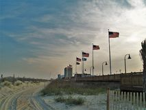 Myrtle Beach Dunes lizenzfreie stockbilder