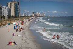 Myrtle Beach. Its popular tourists destination in USA stock photography