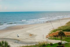Myrtle Beach-Landschaft stockbilder